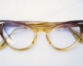 Vintage Ombre Cat Eye Glasses - GertieGertrude