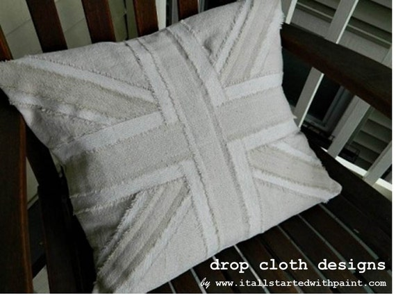 Union Jack Pillow - 16 x 16