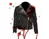 Rocker Jacket - Fashion Illustration - LoveLustArtKteis