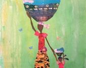 Sky Carriers- 8x10 Art Print