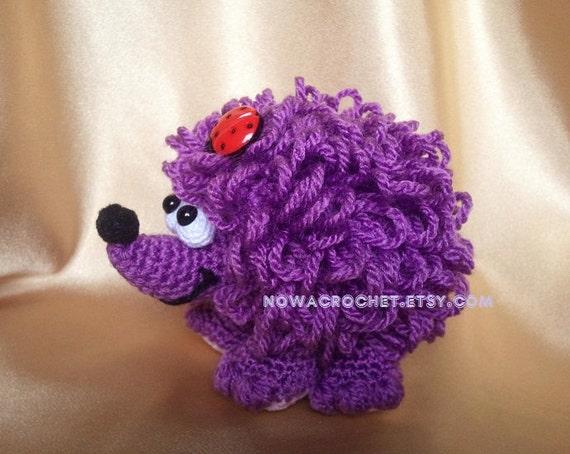 Hedgehog - amigurumi PDF crochet pattern