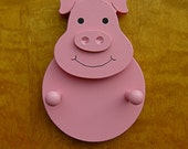 30% OFF Fun Pig coat rack. double peg.