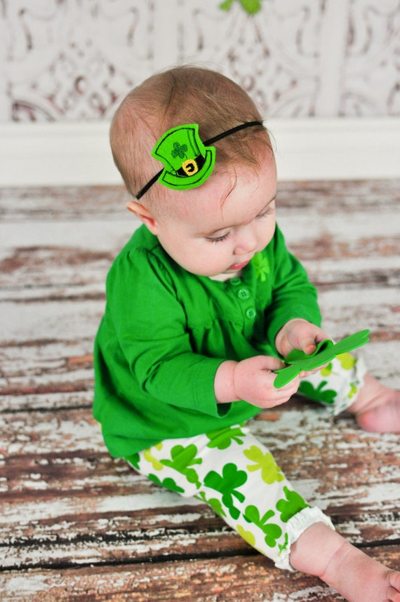 St. Patrick's Day Leprechaun Hat Headband