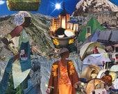 Tent City 8x10 Collage Print