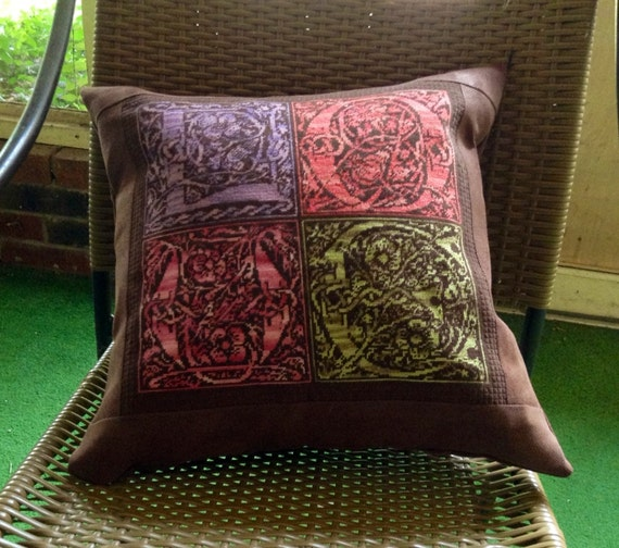 Celtic LOVE Needlepoint Pillow