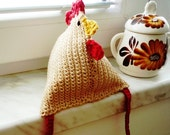 Crochet Pattern - Hen - MonikaDesign