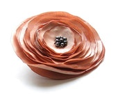 Peach flower brooch -  Flower brooch - Brooch - albado
