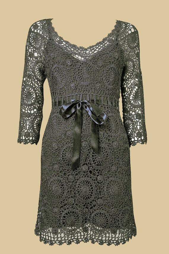 ساخته شده به سفارش لباس قلاب دوزی سفارشی ساخته شده است، دست ساخته شده، قلاب دوزی - ویسکوز، پنبه