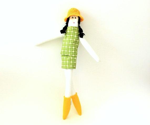 OOAK Fulana fabric doll by Fulana Beltrana Sicrana