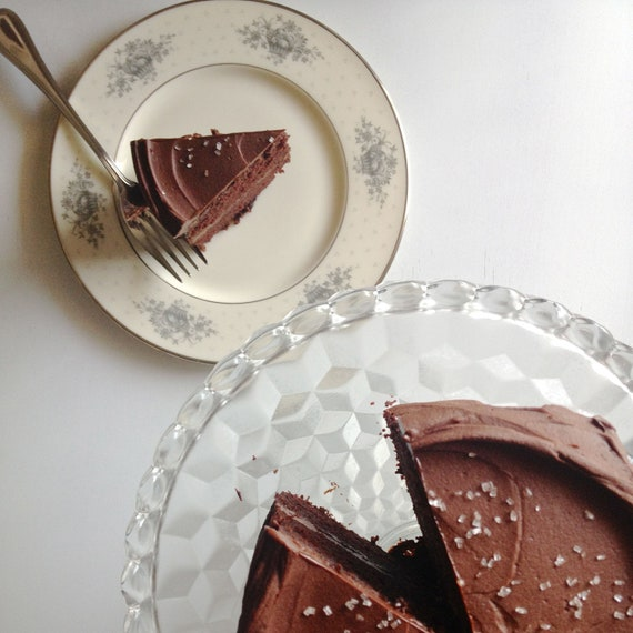 Gluten Free Six Inch Chocolate Fudge Cake