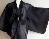 Woman Vintage make over Japanese Kimono Silk Robe, Dressing Gown, Wrap, great for Christmas, Birthday, or Anniversary gifts - KeikoGrace