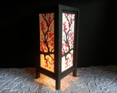Sakura flower mulberry paper table lantern for home decorate or bedroom lighting - SmileLight