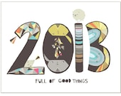 2013 - greeting card - laurageorge