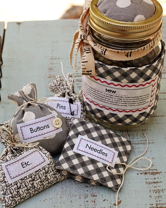 Jar Sewing Kit- Pattern Only