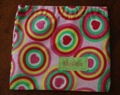 hearts reusable snack bag - eco friendly