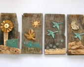 Original Mixed Media, 3d, MIGRATION - MalcolmStudioShop