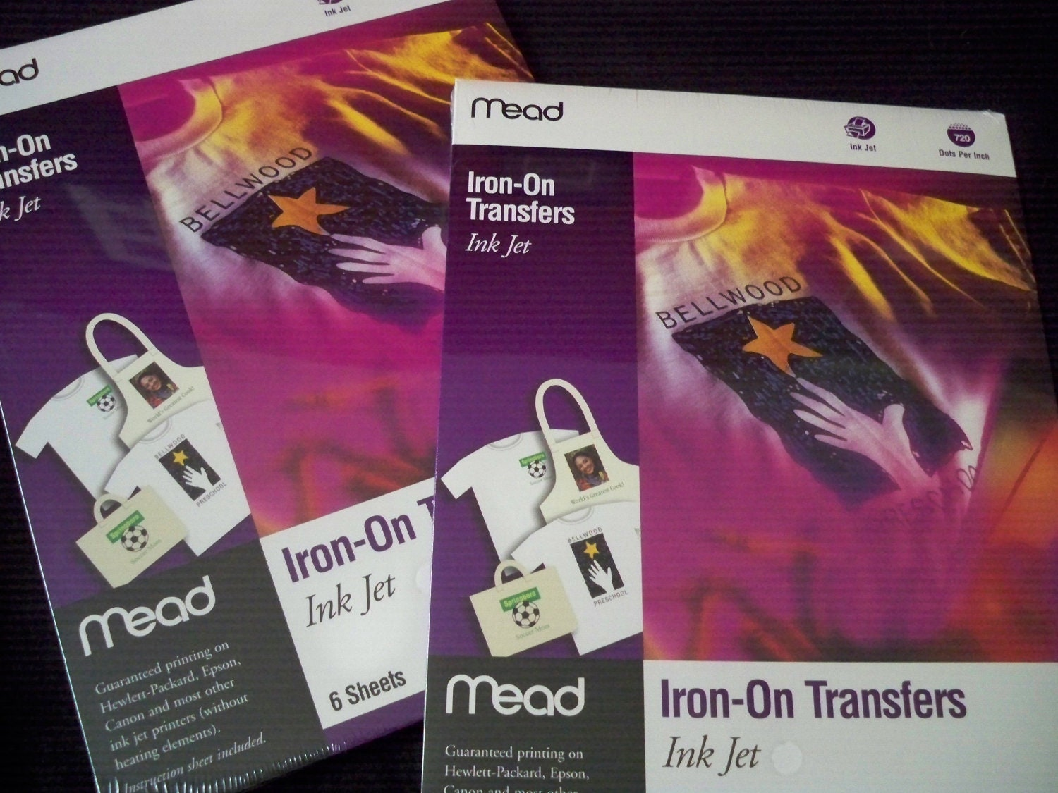 hp iron on transfer paper