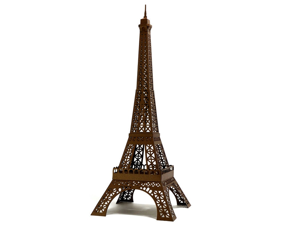 Paper models eiffel tower video search engine at for Eiffel tower model template