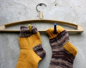 "Autumn game "" Hand knit wool socks for women. Socks MADE TO ORDER - RGideas"