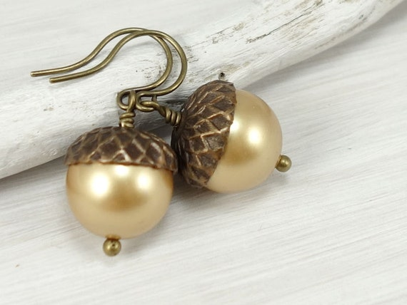 Acorn Earrings