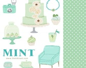 CLIP ART - Mint - for commercial and personal use