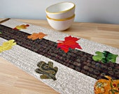 Autumn Leaves Fall Table Runner