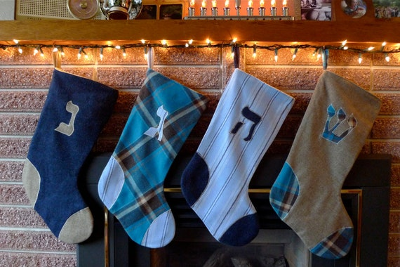 Handmade Hanukkah Stockings