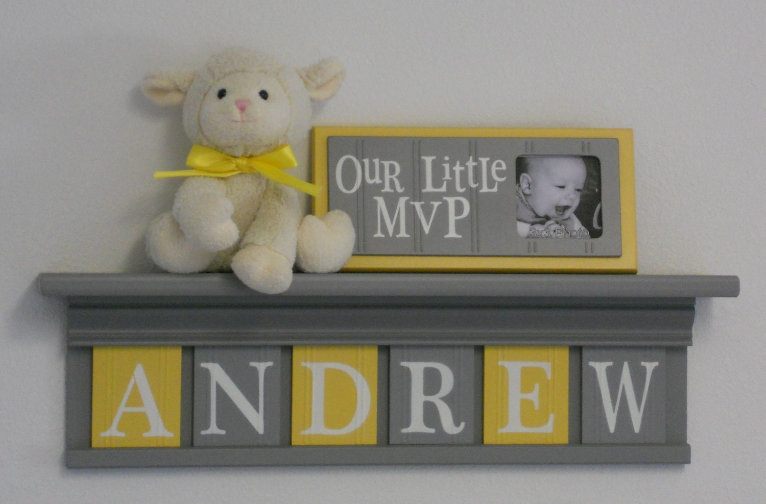 Wall Decor Name Letters For Boys