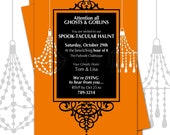 Printable Halloween Party Invite (Halwn Inv 106)