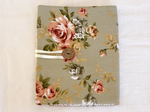 Fabric Notebook Cover - Notepad Clutch - Organizer