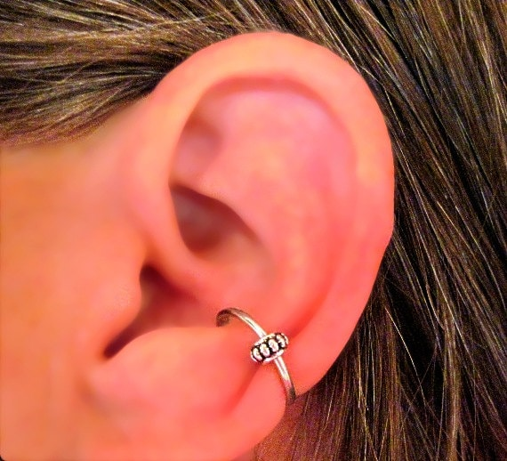 The Conch ear piercing