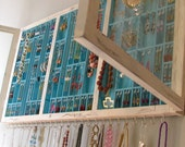 Jewelry Dipslay with glass doors with stud slots - RTS