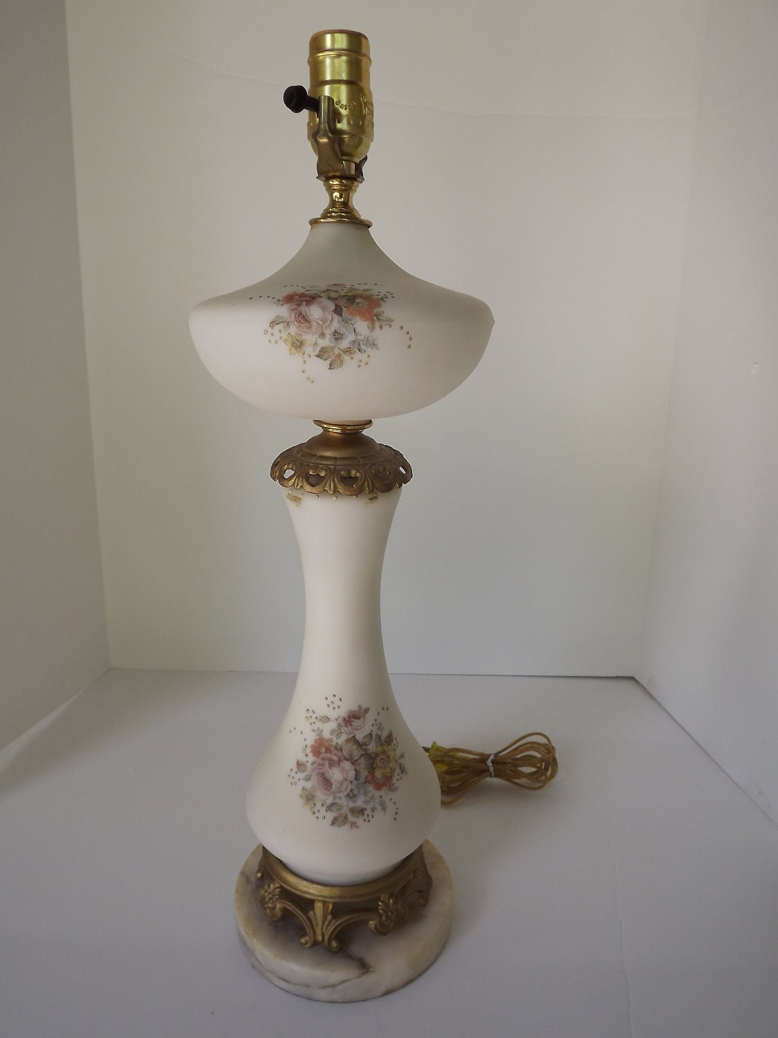 Vintage Glass Table Lamps 93