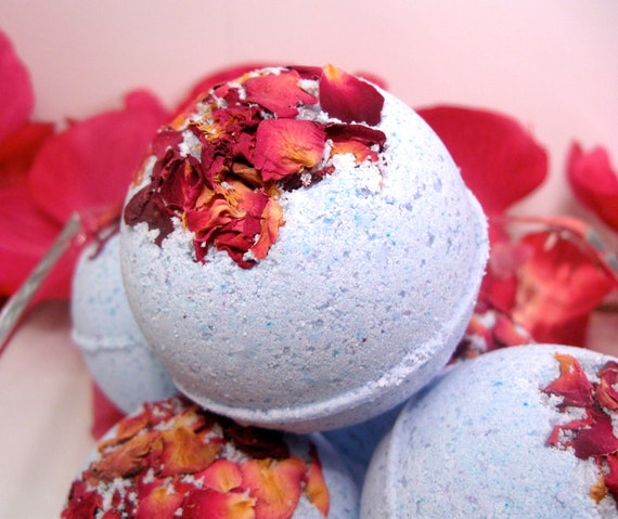Bath Bomb - Hyacinth - Vegan Moisturizing Bath Bomb