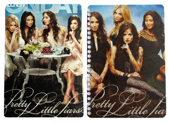 Pretty Little Liars 2012 - 2013 UpCycled Daily Planner Academic Student Agenda Calendar