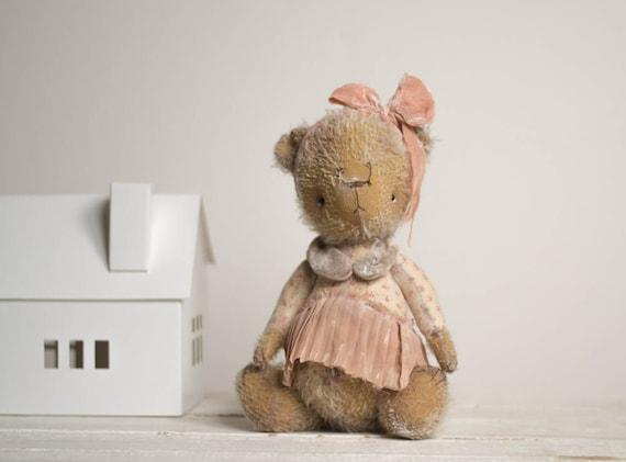 Soft Toy Bear Daria  -  Stuffed  Animal - Artist Teddy Bears