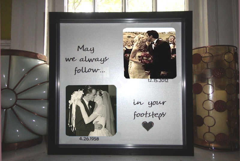 Wedding Gifts For Parents : Parents Anniversary Gift, Wedding Gift for Parents, Personalized Frame ...