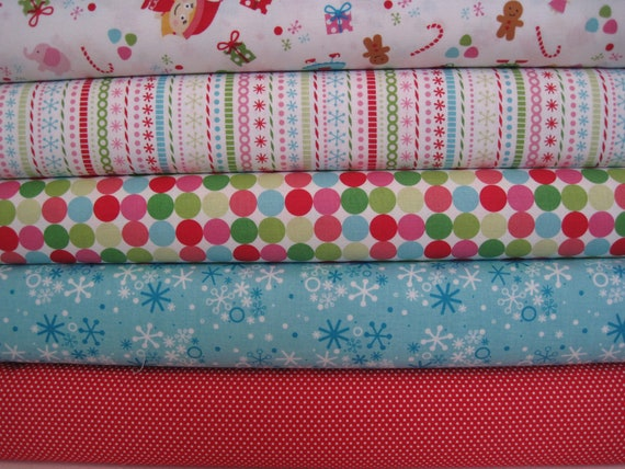 Riley Blake Fabric Bundle Santa's Workshop-Yard Bundle