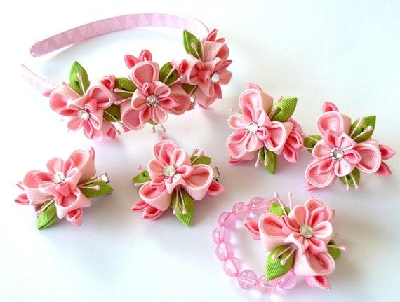 Цветы из ткани очередная подборка 2