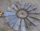 Vintage Windmill - Folk Art - Decoration - OldSoulSalvage