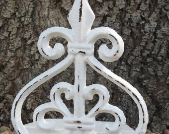 Fleur de Lis Wall Decor/Cast Bronze/Cast Iron by VeritasInspired