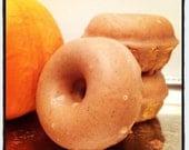Vegan Pumpkin Spice Donut