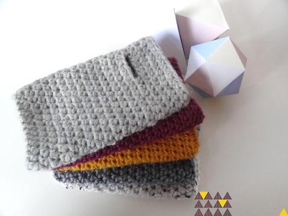 CUSTOM ORDER Chunky crochet wristwarmer short