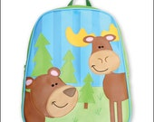 Stephen Joseph Monogrammed Outdoors Go-Go Backpack - ClassicTreasuresofAZ