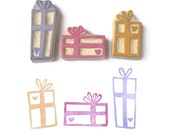 Heart Gifts - Hand Carved Rubber Stamp Set
