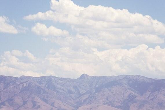 Mountain Landscape Color Photograph