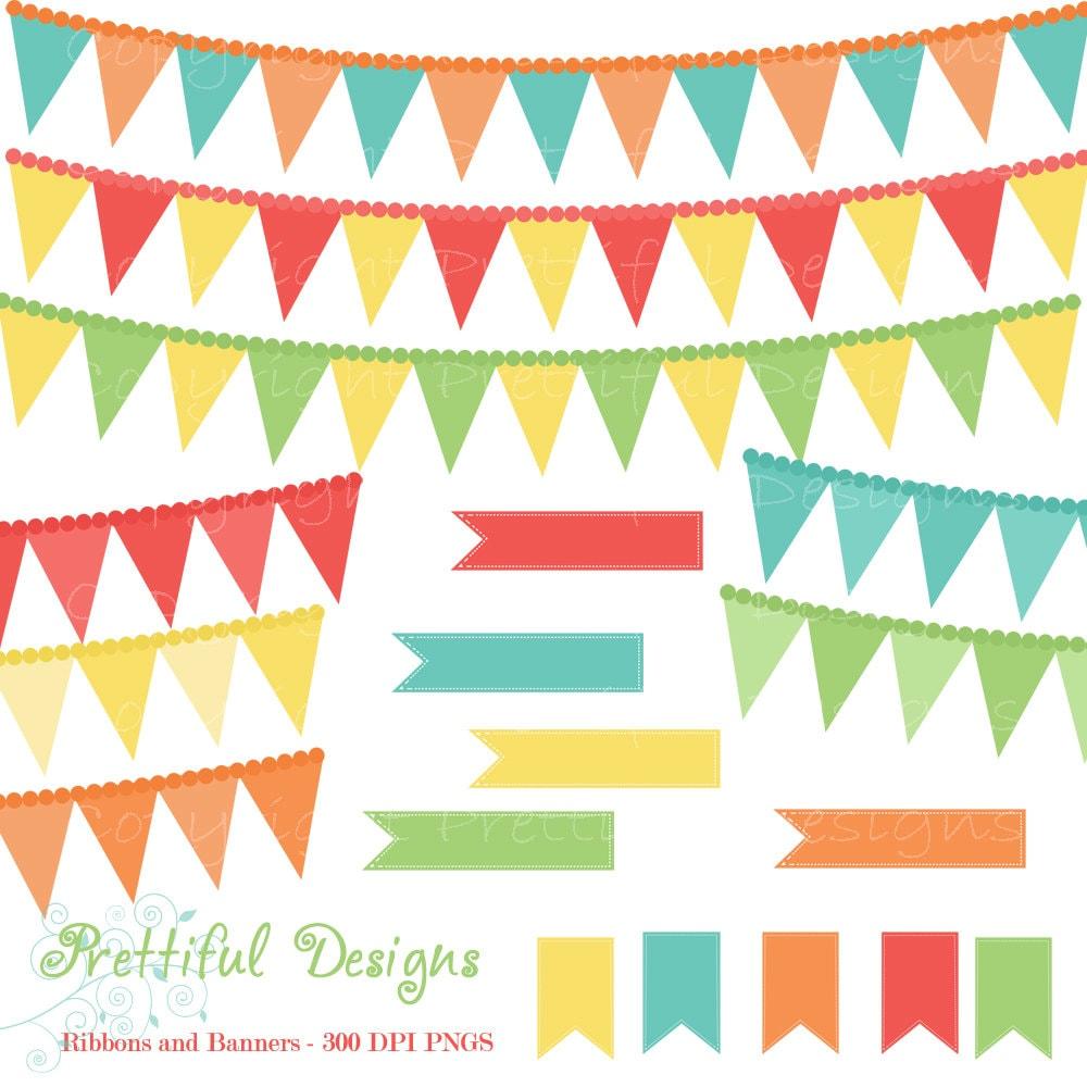 Flag Banner Clip Art 50% off sale clip art ribbon