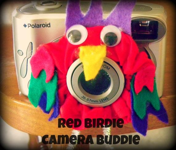 Red Birdie Camera Buddie