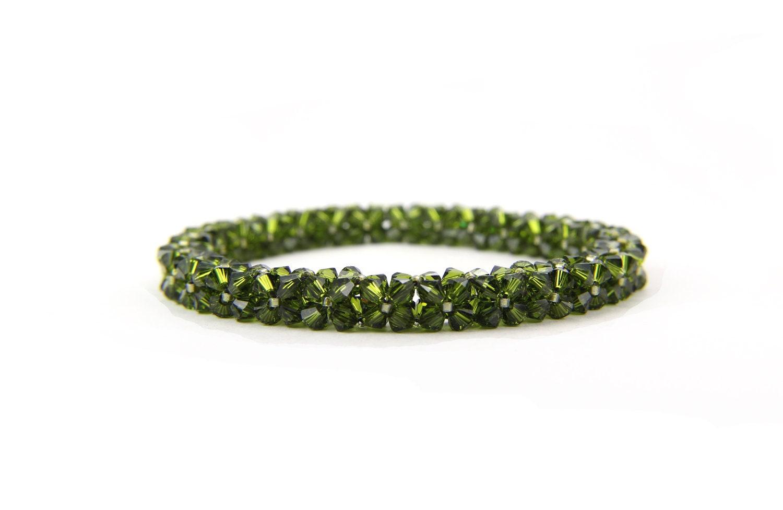 crystal bangle bracelet
