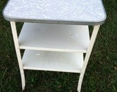 Vintage Kitchen Utility Cart - PrairieTreasure